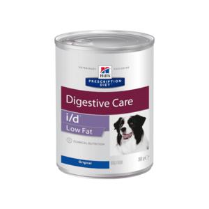Влажный диетический корм для собак Hill's Prescription Diet i/d Low Fat Digestive Care при растройствах пищевания с низким содержанием жира, 360 г