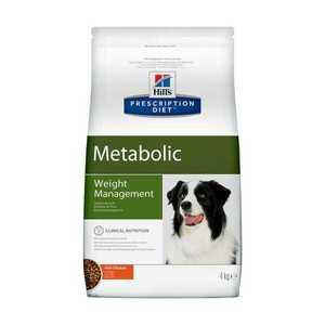 Сухой диетический корм для собак Hill's Prescription Diet Metabolic способствует снижению и контролю веса, с курицей (1,5 кг 4 кг)