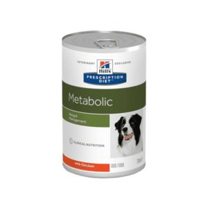 Влажный диетический корм для собак Hill's Prescription Diet Metabolic   способствует снижению и контролю веса, с курицей 370 г