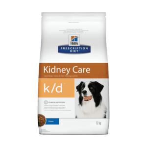 Сухой диетический корм для собак Hill's Prescription Diet k/d Kidney Care при профилактике заболеваний почек (2 кг, 12 кг)